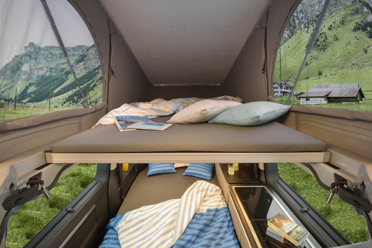 PÖSSL Campster - Schlafbereich