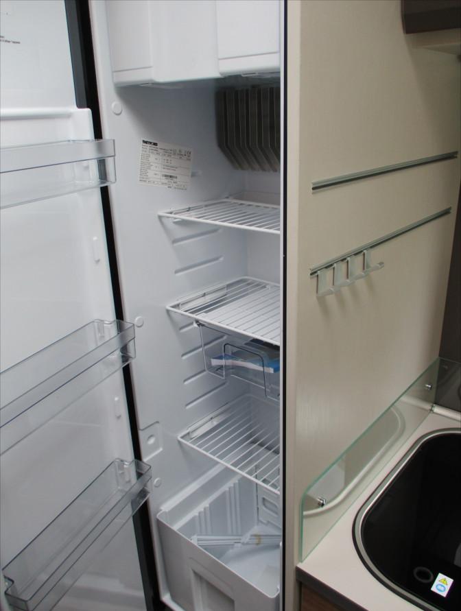 Mietwohnmobil Dethleffs Trend - Kühlschrank