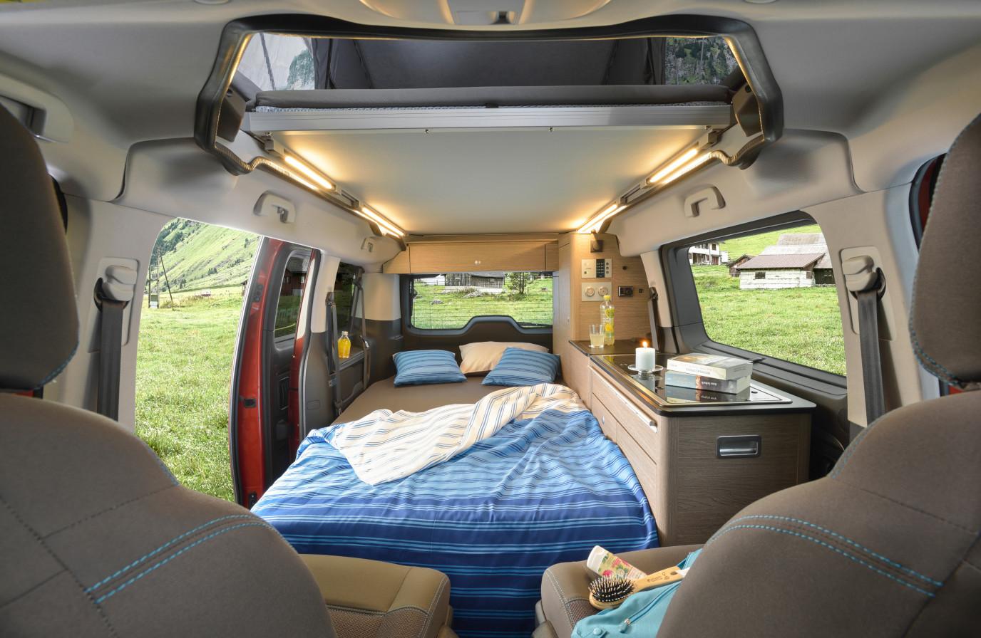 Wohnmobil mieten - Campster Schlafplatz