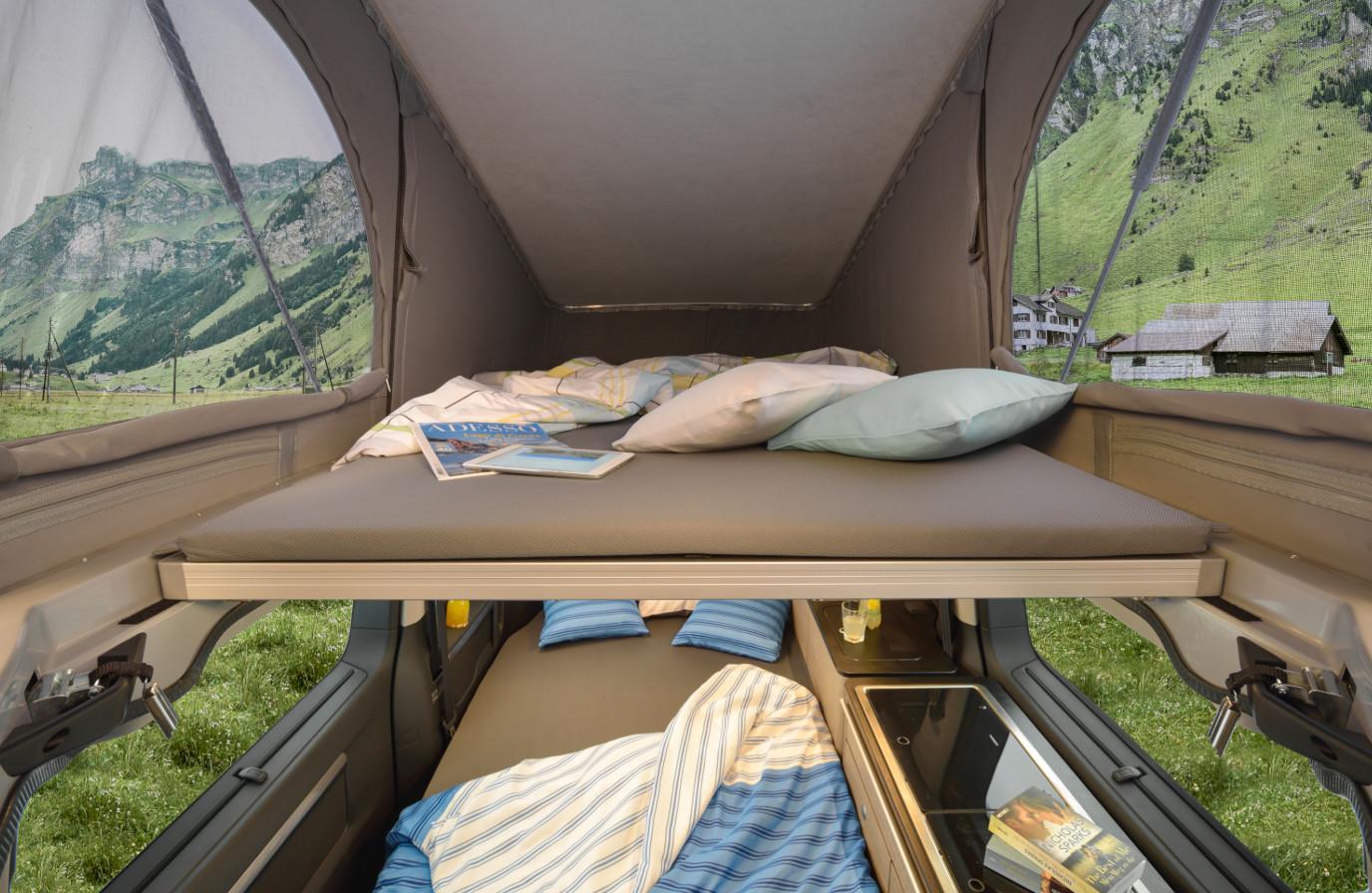 Wohnmobilvermietung - Campster Aufstelldach